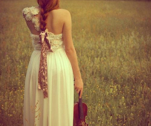 violin and dress image