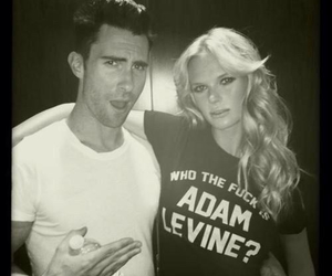 adam levine, anne v, and maroon 5 image