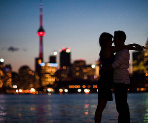 city night and love and nothing else! image