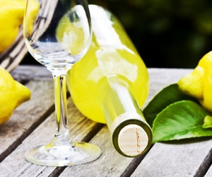 drink, italy, and lemon image