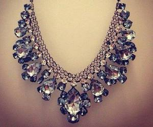 necklace, diamond, and luxury image