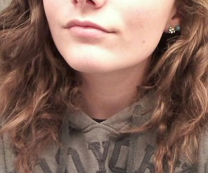 curls, pretty, and hoodie image