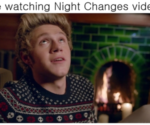 1d, night changes, and niall image