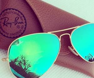ray ban, sunglass, and style image