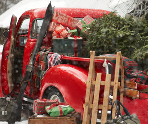 christmas, presents, and snow image