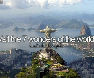 travel, wonders of the world, and 7 wonders image