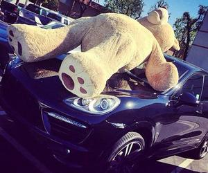 car, bear, and luxury image