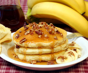 dessert, food, and pancakes image
