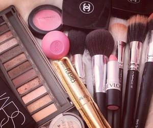 makeup, chanel, and make up image
