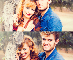 alex pettyfer, dianna agron, and couple image