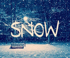 *, :), and snow image