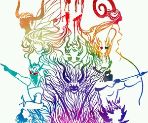 rainbow, homestuck, and the sufferer image