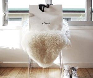 celine, fashion, and white image