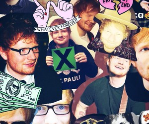 Collage, ed, and sheeran image
