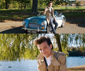 tomlinson, 1d, and louis tomlinson image