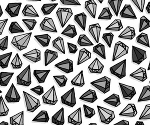 wallpaper, diamond, and background image