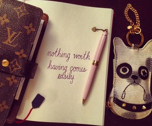 quote, Louis Vuitton, and life image