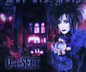album cover, church, and gothic image