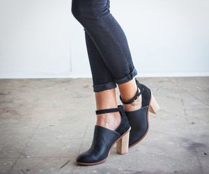 black, girl, and heels image