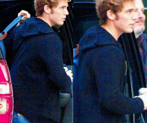 sam claflin and mockingjay image