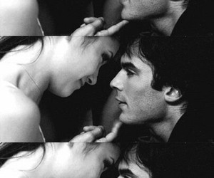 the vampire diaries and delena image