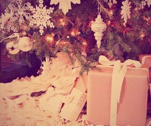 new year, christmas, and gifts image