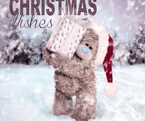christmas, wishes, and tatty teddy image