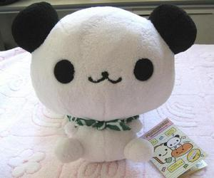 kawaii, fluffly, and panda image