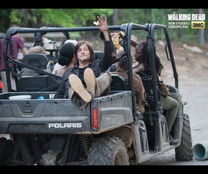 truck, amc, and daryl image