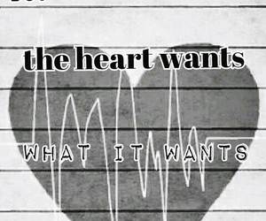 forget, heart wants what it wants, and heart image