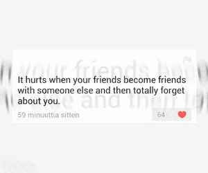 alone, friendship, and quote image