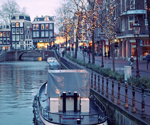 amsterdam, light, and city image