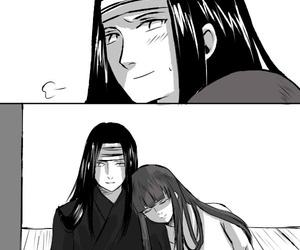 naruto, nejihina, and hyuga image