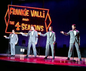 clint eastwood, frankie valli, and the four seasons image