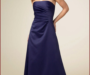 weddings, long bridesmaid dresses, and dress image