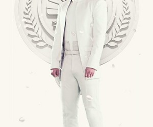 peeta, peeta mellark, and mockingjay image