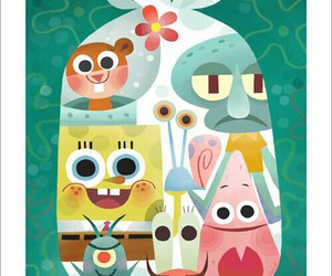 spongebob and wallpaper image