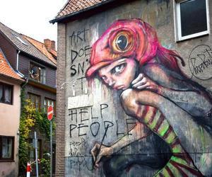 art, street art, and graffiti image