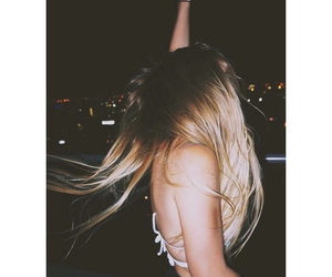 blonde, girl, and party image