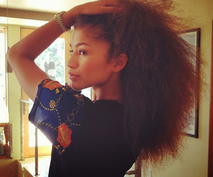 zendaya, hair, and pretty image