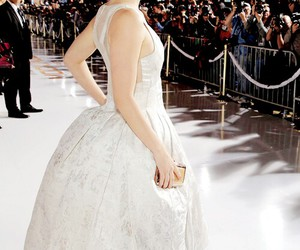 dress, hero, and Jennifer Lawrence image