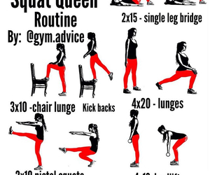 fitness, exercises, and Queen image