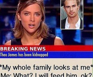 theo james, divergent, and funny image