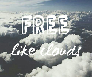 clouds, free, and like image