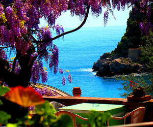 italy, ocean, and pretty image