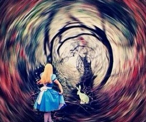 alice, picture, and wonderland image