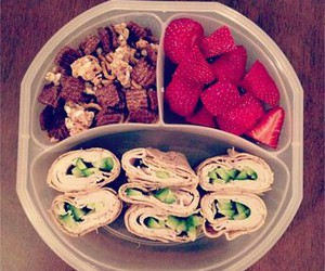 healthy, snacks, and love image