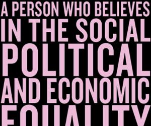 beyoncé, feminist, and feminism image