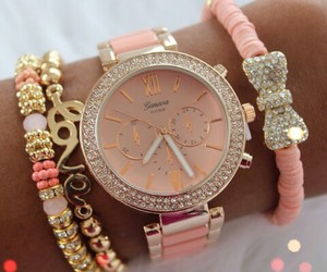 pastels, pink, and watch image