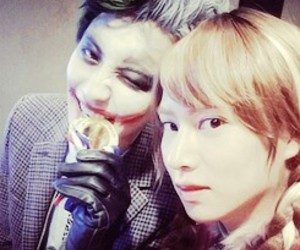 chanyeol, exo, and heechul image